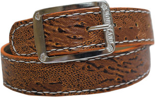 Stylish brown belt for men by astro club
