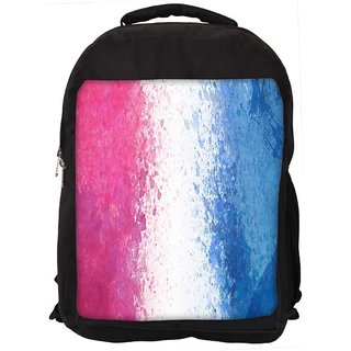 Color Splashes Abstract Digitally Printed Laptop Backpack