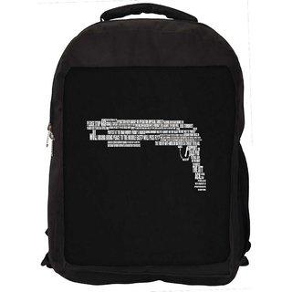 Minimalism Digitally Printed Laptop Backpack