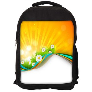 Abstract Summer Background Designer Laptop Backpacks
