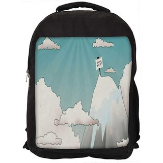 Are We There Yet Digitally Printed Laptop Backpack