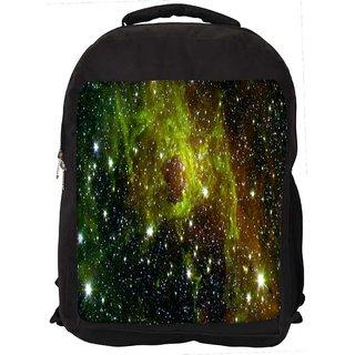 Galaxy Digitally Printed Laptop Backpack