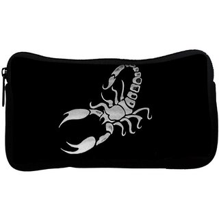 Scorpio Poly Canvas  Multi Utility Travel Pouch