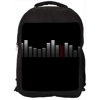 Abstract Music Digitally Printed Laptop Backpack