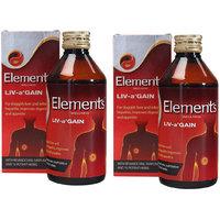 Elements Liv a Gain Liquid 400ML (Pack Of 2)