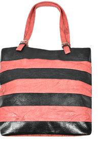 DNA Infinity Black, Pink Elegant Leatherette Designer T