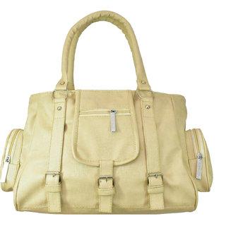 DNA Infinity Cream Elegant Leatherette Designer Trendy  Stylish Women's Handbag (DIY41)