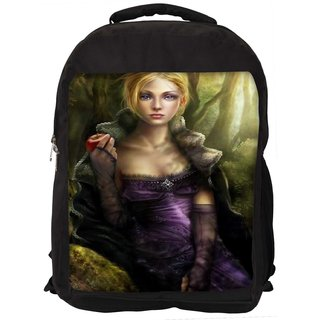Lost In Beauty Digitally Printed Laptop Backpac