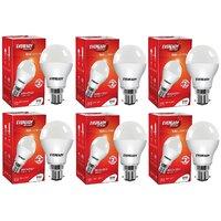 Eveready 9W 6500K Cool Day Light Pack of 6 Led Bulbs