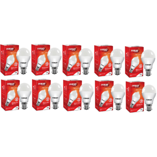 Eveready 7W 6500K Cool Day Light Pack of 10 Led Bulbs