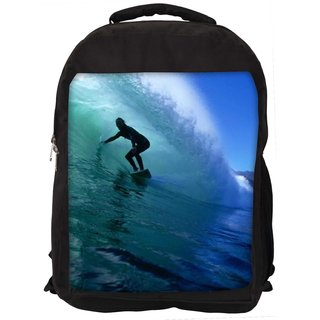 Surfer Style 2 Digitally Printed Laptop Backpac