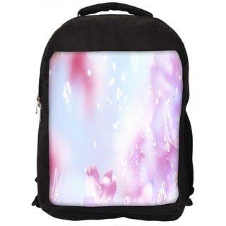 Sparkling Butterflies Digitally Printed Laptop Backpack