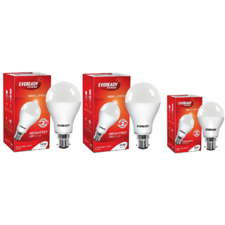 Eveready 14W6500K Cool Day Light Pack of 2 with 9W Led Bulb Free