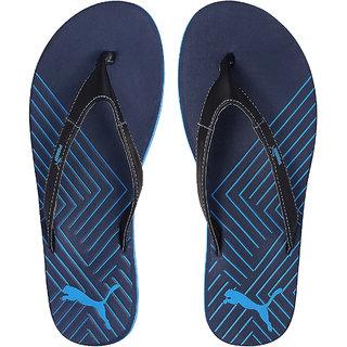 83525bbe6cd5 Buy Puma Webster IND Navy Slippers and Flip Flops Online   ₹1399 ...