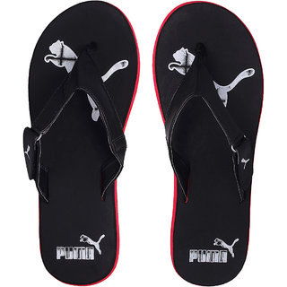 d7940c70b58 Buy Puma Men s Black and White Flip Flops Online   ₹1499 from ShopClues
