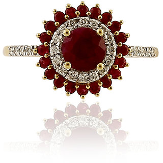 RATNAM REAL DIAMOND 18K RING