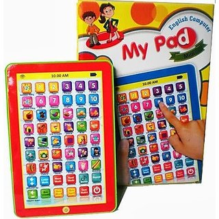 Kids Educational Tablet for Children Learning Tab ipad My Pad for Children