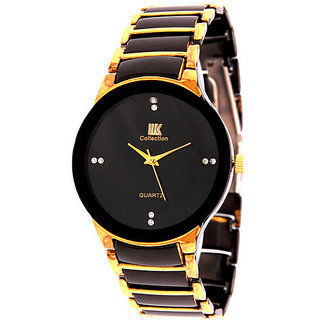 Ture Choice Iik Collection Black And Gold Analog Watch