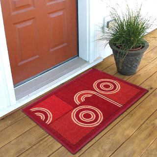 Status Red Nylon Door Mat ( 15X22 Inch)