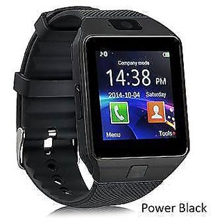 0191529e8aadb7 Buy FAP SMART WATCH Black Colour with sim card support and much more ...
