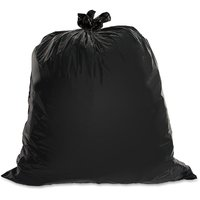 Ezzi Deals Medium Black Disposable Garbage / Dust Bin Bag (19X21 Inch) -  (150 Pieces)