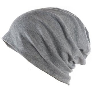 2ebcef34944 Buy SAIFPRO Grey Unisex Woolen Cap Slouchy Beanie Cap For Men Women ...