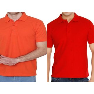 GLADIATOR PRODUCTS POLO PLAIN  T-SHIRT combo of 2