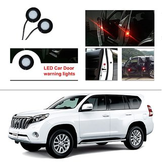 AutoStark 2pc Car Door Opening Warning Flasher Car Red LED Light Bright Flash  For Toyota Land Cruiser Prado