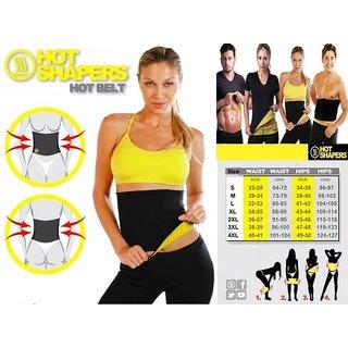2becc2005ba Hot Belt Hot Thermo Sweat Neoprene Shapers Slimming Belt Waist Cincher Girdle  For Weight Loss Women Men XL