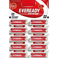 Eveready 1015 AA Carbon Zinc Pencil Battery 10 Pc Strip