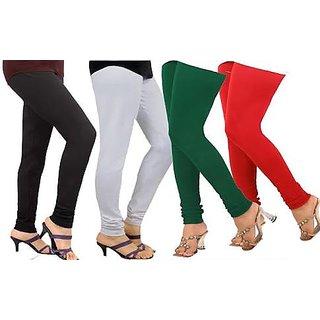 RIRA Leggings Combo of 4 for women