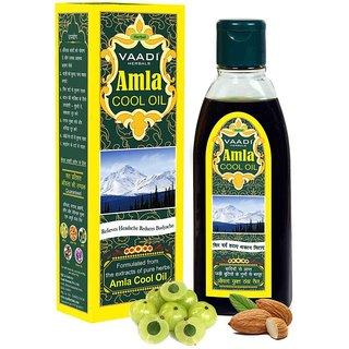 Vaadi Herbals Amla Cool Oil with Brahmi  Amla Extract (200 ml)