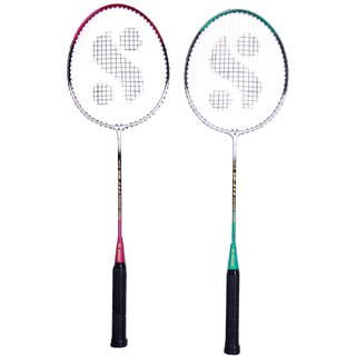 Silvers Sb-414 Gutted Badminton Rackets(Multicolor)