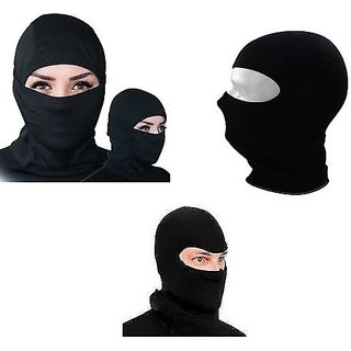 Benjoy Stretchable Balaclava Face Mask - Black Colour