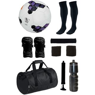 Combo of Premier League Purple Football (Size-5) with 7 Other items