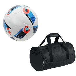 Combo of Conext15 Football (Size-5)with Kit Bag