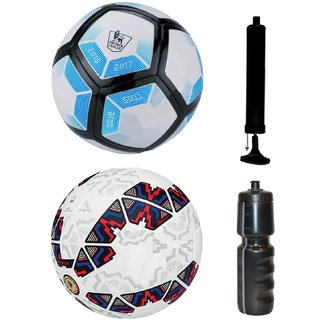 Kit of Laliga Blue/White + Cachana Cope America 2015 with Air Pump & Sipper