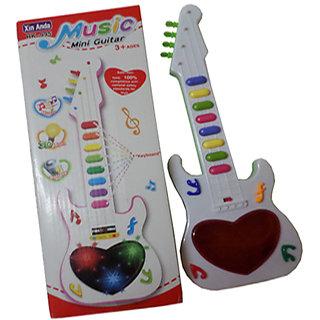 Music Mini Guitar for Kids (Multi Color)