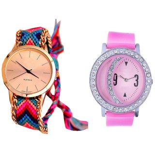 new brand super fast selling hathi and pink moon analog watch for girls,women
