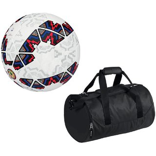 Combo of Cachana Cope America 2015 Football (Size-5) with Kit Bag