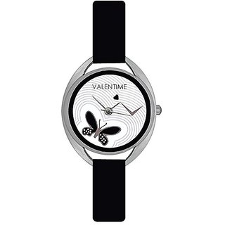 Valentine Glory black ValenTime Fancy Beautiful Look Collection Analog Watch - For Womens by Savan Retail