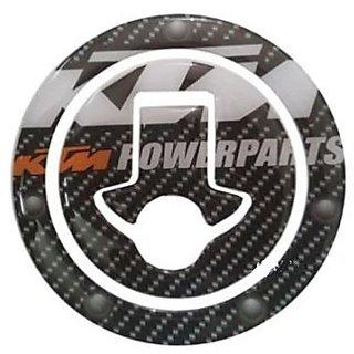 CUSTOMIZE KTM DUKE/RC 125/200/390 Tank Cap Sticker or Fuel Cap Pad Protector