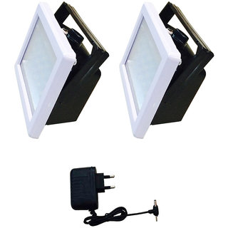 Grind Sapphire GS11 Rechargeable 12W Emergency Light Set of 2 with charger