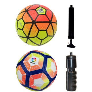 Kit of Ordem Pitch Orange/Yellow + Laliga Orange/Yellow with Air Pump & Sipper