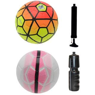 Kit of Ordem Pitch Orange/Yellow + Mercurial White/Pink with Air Pump & Sipper