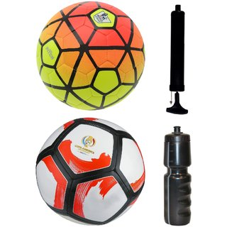 Kit of Ordem Pitch Orange/Yellow + Pitchciento Cope America Centenario with Air Pump & Sipper