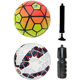 Kit of Ordem Pitch Orange/Yellow + Cachana Cope America 2015 with Air Pump & Sipper