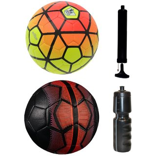 Kit of Ordem Pitch Orange/Yellow + Mercurial Black/Red with Air Pump & Sipper