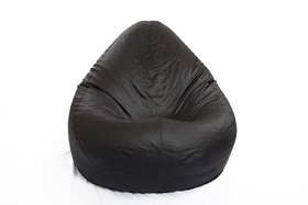 Styleco  XXL size  Modern Classic Bean Bag Cover Only  - Black Black