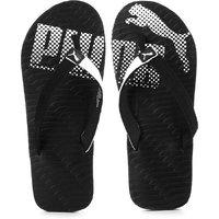 Puma Unisex Miami VI DP Black & White Slippers